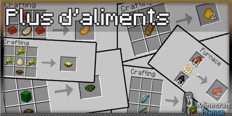 [Mod] Plus d'aliments [1.5.1] | Minecraft | Scoop.it