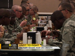 Too fat to serve: Military wages war on obesity - CBS News | Food issues | Scoop.it