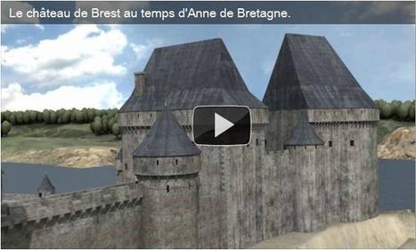 Un peu de généalogie dans ce monde de brutes...: Au temps d'Anne de Bretagne, le château de Brest... | GenealoNet | Scoop.it