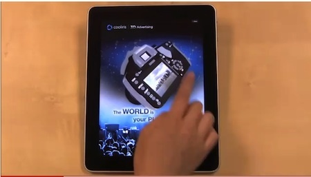 Cooliris shows off its cool 3D ads for the iPad (video) | VentureBeat | Web 3D | Scoop.it