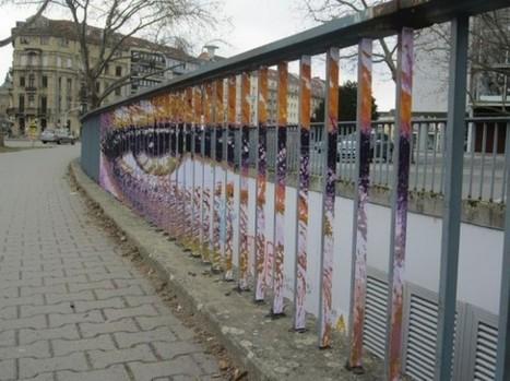 Hidden Railing Street Art | lemayOnline | CultureNext | Scoop.it