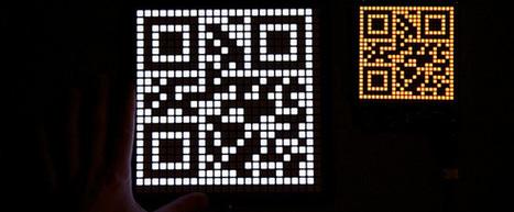 Making a QR clock bigger, cheaper, and better | Using QR Codes | Scoop.it