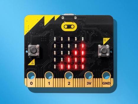 Le BBC micro:bit, un ordinateur de poche facile à programmer | robotique-codage-et-technologie | Scoop.it