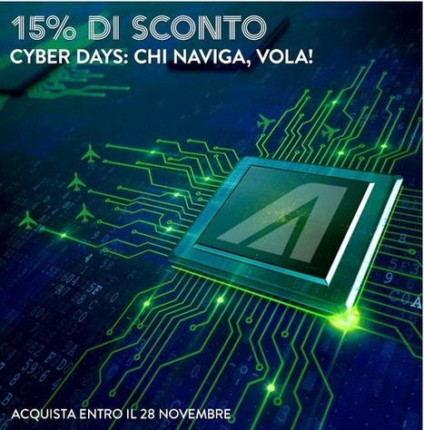 Black Friday Alitalia: 15% di sconto fino a mezzanotte | Travel | Scoop.it
