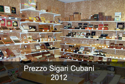 Prezzo Sigari Cubani 2012 | Sigari | Scoop.it