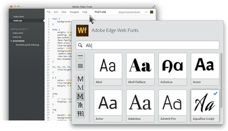 Free Adobe Edge Web Fonts | Online Marketing Resources | Scoop.it