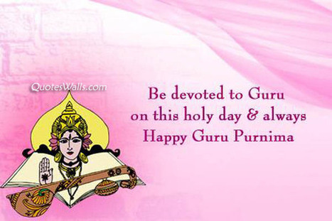 Guru Purnima Wishes Greetings | Quotes Wallpapers | Scoop.it