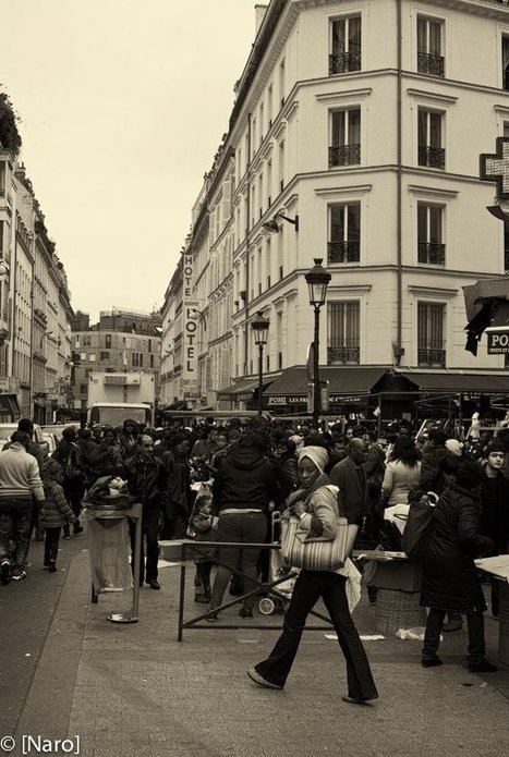L'exposition Paris en Noir et Blanc – 15 photos expliquées | Evolution et développement | Scoop.it