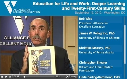 WEBINAR: Education for Life and Work | Alliance For Excellent Education Media | :: The 4th Era :: | Scoop.it