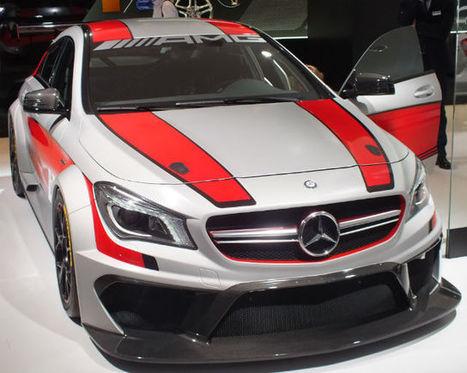 Mercedes hints at new CLA VLN race car   Racecar Engineering   Motorsports   Scoop.it