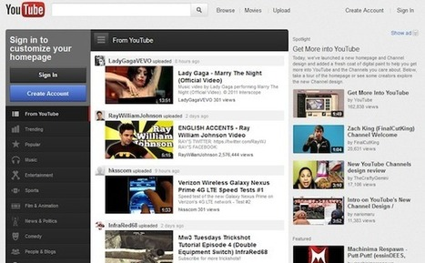 Online Video Trends in 2011: From YouTube Mobile to Major Redesign | SocialMediaDesign | Scoop.it