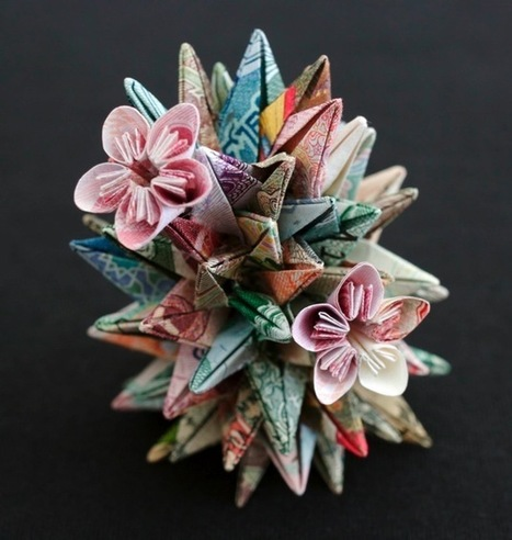 Geometric Currency Sculptures by Kristi Malakoff | Colossal | Share Some Love Today | Scoop.it