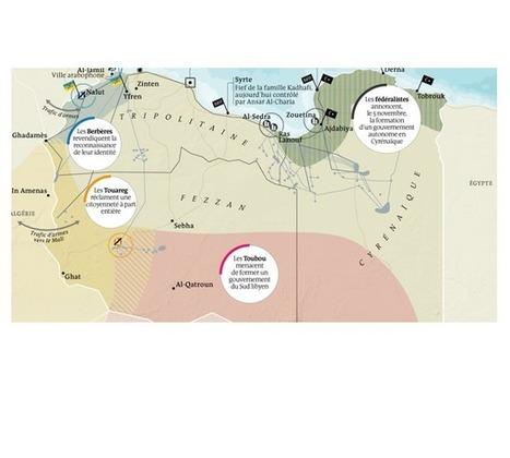 La lente désintégration de la Libye post-Kadhafi | Géographie au lycée | Scoop.it