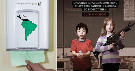 37 shocking ads that will make you think about the issues of our society. #9 is so true it hurts... | This is Your World | Scoop.it