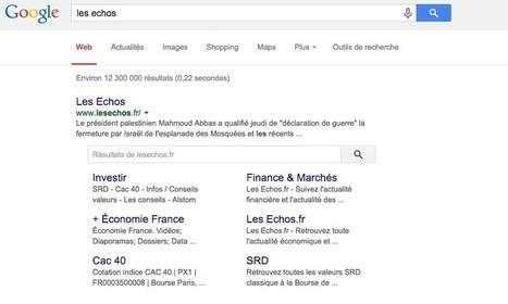 Google propose une balise Meta anti SearchBox - | Media - ES | Scoop.it