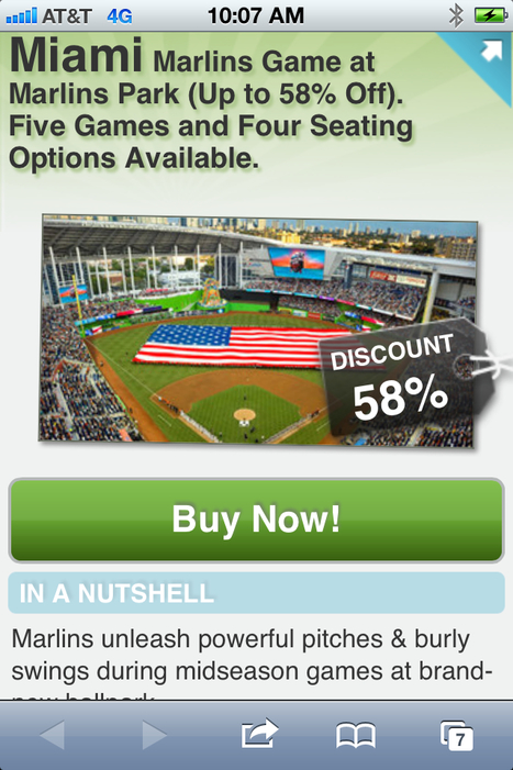 Miami Marlins on Groupon today: 58% tickets | The Billy Pulpit | Scoop.it