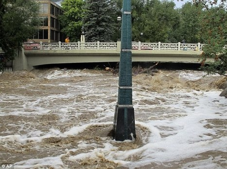 'Wall of water' hits Boulder, Colorado as floods continue for 4th day | Social Studies | Scoop.it