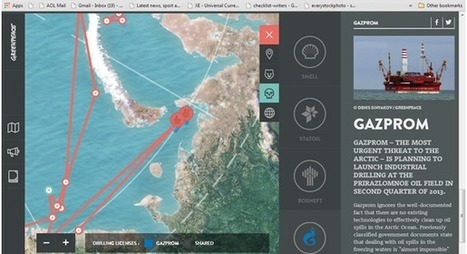 10 Great Examples of Web Design Using Interactive Maps | Diseño Grafico | Scoop.it