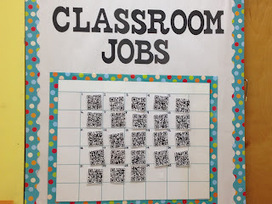 Teaching in the 21st Century: QR Code Job Chart | QRCodes: In the Classroom | Scoop.it