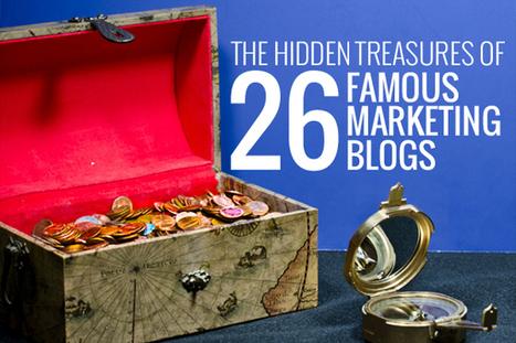 The Hidden Treasures of 26 Famous Marketing Blogs | BloggerJet | Links sobre Marketing, SEO y Social Media | Scoop.it