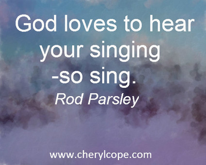 Let's Sing to the Lord | Cheryl Cope | Christian Devotionals | Scoop.it