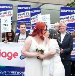 Scotland: Symbolic gay wedding marks 'final push' for marriage ... | Marriage Equality in Scotland | Scoop.it
