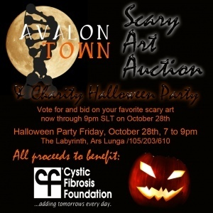 Scary Art Auction to Benefit the Cystic Fibrosis Foundation | Logicamp.org | Scoop.it