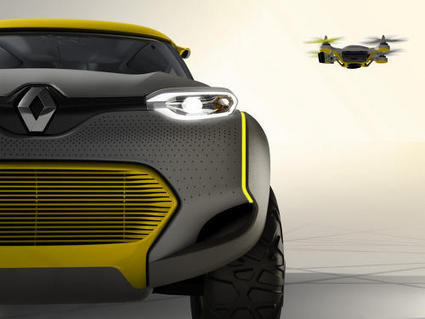 Renault Kwid, le SUV 4x4 qui intègre un drone de compagnie | Numerique - Objets connectés - Innovation | Scoop.it