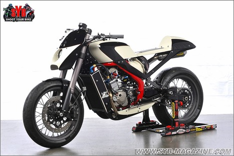 Honda GP250R Café Racer | Cafe Racers | Scoop.it