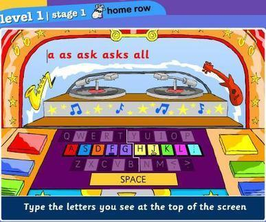 Keyboarding Sites for Kids | Into the Driver's Seat | Scoop.it