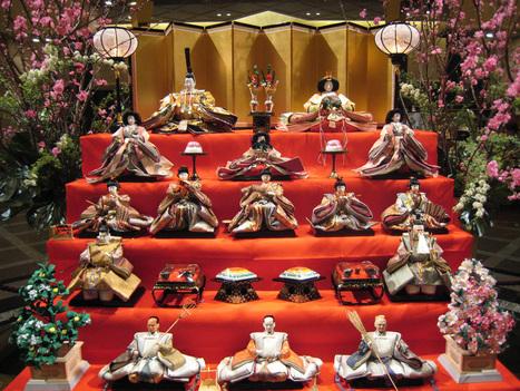 #fête Japonaie :Hina matsuri, la journée des petites filles le 3 Mars   Décoration_PlusDeCoton   Scoop.it
