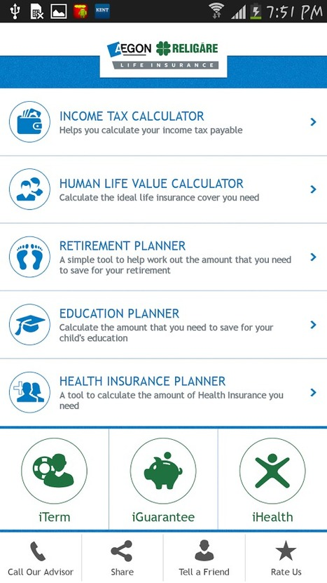 iTerm Calculator - AEGON Religare Smart Financial Planner App | Best news | Scoop.it