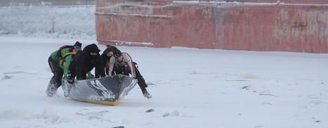 Canot à glace : à l'assaut du Saint-Laurent | Le canot à glace - Ice canoeing | Scoop.it