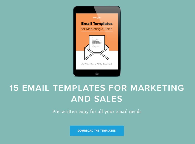 [FREE] Email Templates for Marketing & Sales - HubSpot | The MarTech Digest | Scoop.it
