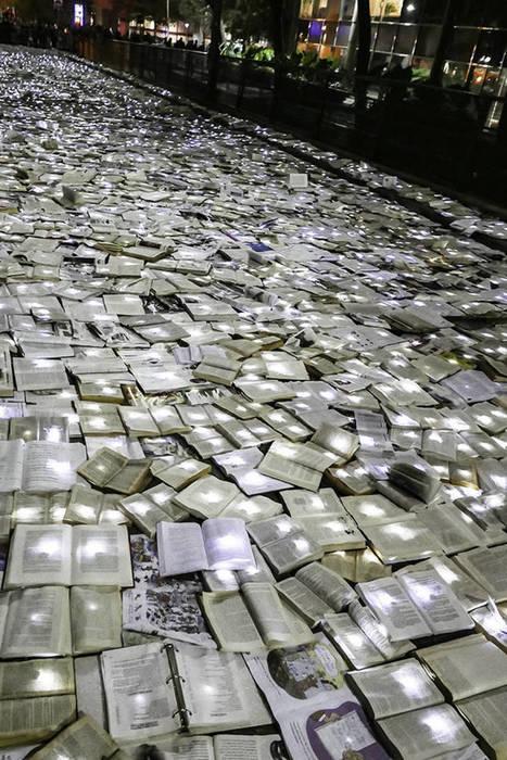 Une rivière de 10 000 livres à Toronto | Sur les livres, l'édition, les mots: Infos, technologie, nouveautés... | Scoop.it