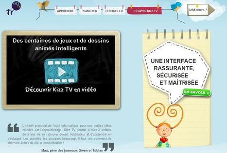 Kizz TV : Apprendre et s'amuser en maternelle | TICE & FLE | Scoop.it