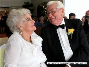 Cue the awwws: 90-year-old Maddow fans celebrate nuptials - Video on NBCNews.com | Educating Voters and Promoting the Vote | Scoop.it