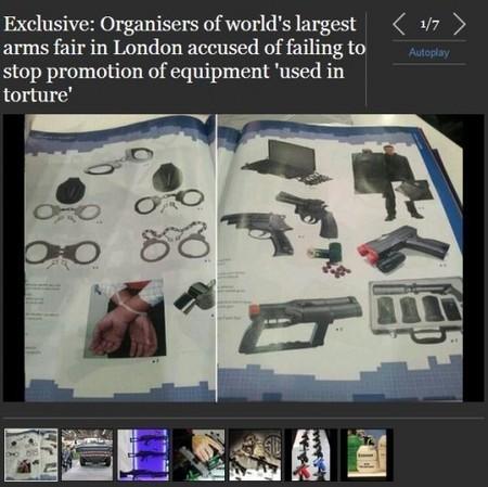 SENSIBLE – Des équipements français utilisés pour la torture ... | Du bout du monde au coin de la rue | Scoop.it