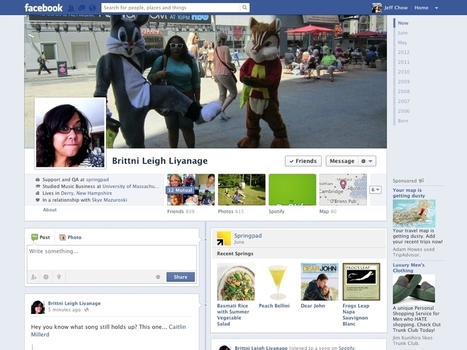 Springpad Integrates With Facebook, Allows Users To Organize Likes Into Notebooks - AllFacebook | Everything Facebook | Scoop.it