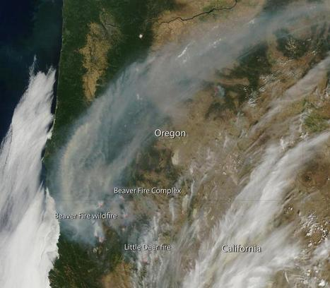 Image: Fires in California and Oregon | Sustain Our Earth | Scoop.it