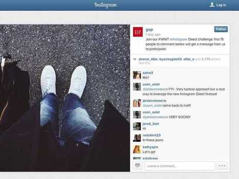 Brands Are Already Using Instagram's New Messaging Feature To Send Photos To People | Social Media, SEO, Mobile, Digital Marketing | Scoop.it