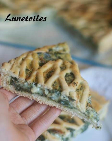 tourte aux épinards | Cuisine Algerienne, cuisine marocaine, cuisine tunisienne, cuisine indienne | Scoop.it