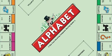 The Tech Behind Each Letter In #Google's #Alphabet | My Brand Friend | Scoop.it