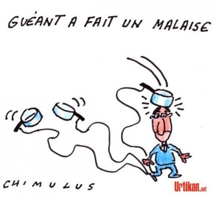 Claude Guéant hospitalisé pour un malaise | Baie d'humour | Scoop.it