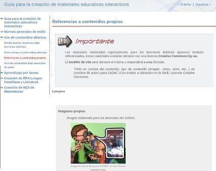 Cómo crear materiales educativos interactivos | Edu-Recursos 2.0 | Scoop.it