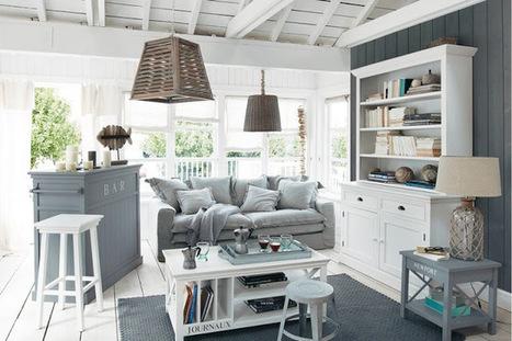 5 Idées de Style pour Obtenir une Déco Bord de Mer   Décoration maison intérieure et extérieure   Scoop.it