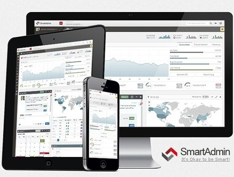 SmartAdmin - Responsive WebApp Theme - Download! New Themes and Templates | html5 | Scoop.it