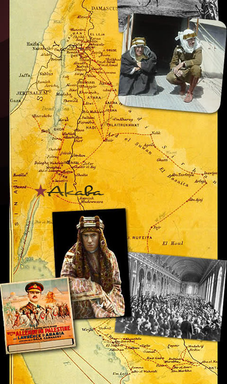 Lowell Thomas and Lawrence of Arabia / T.E. Lawrence online history exhibit :: Home | GenealoNet | Scoop.it