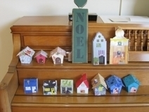 Parade of Paper Houses | Creative Paper & Ephemera Art | Scoop.it