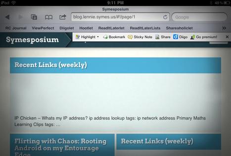 How to Use Web 2.0 Toolbars in iPad Browsers « Symesposium | It-pedagogik och mobilt lärande | Scoop.it